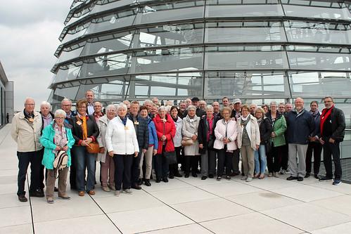 Eine Besuchergruppe der Postsenioren-Gemeinschaft habe ich im Bundestag begrüßt.