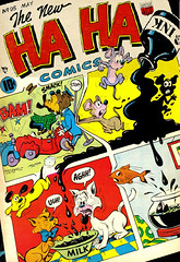 Ha Ha 95 (Michael Vance1) Tags: comics comicbooks cartoonist art adventure artist anthology funnyanimals fantasy funny