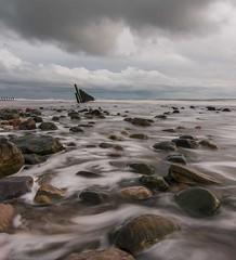 Sticks and stones (Graham - bell) Tags: groynes sticks stones walney seascape nikon longexposure