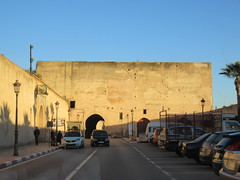 Approaching Bab Rih, late afternoon on Rue Palais, Meknes, Morocco (Paul McClure DC) Tags: meknes meknès morocco almaghrib jan2017 architecture historic