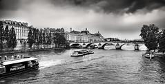 Parigi (jule_76) Tags: parigi france francia paris blackandwhite bw viaggiare viaggi paesaggi senna bnw biancoenero ngc