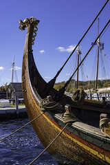 The Draken 2 (joegeraci364) Tags: woodenboat wood reproduction nauticalphotography nautical draken norway norse viking heritage handmade voyage scenic craft history travel beach shore coast scandinavia sail sailing ship vessel atlantic