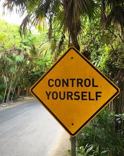 Respete las señales de tránsito.