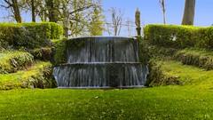 Cascade Annevoie (Yasmine Hens +4 800 000 thx❀) Tags: cascade waterfall water blue nature annevoie jardinsdannevoie green vert garden parc nikon
