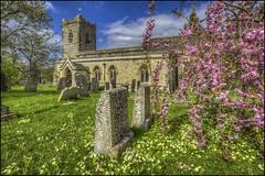 Cranford Church (Darwinsgift) Tags: spring cranford church st john baptiste northamptonshire hdr 19mm pc pce e lens nikkor tilt shift nikon d810 photomatix f4
