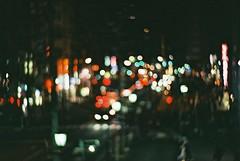 Night Scene (Shoji Kawabata. a.k.a. strange_ojisan) Tags: nikon fm2 lomography zenit new petzval lens fujicolor 100 35mm night nightphoto nightphotography japan street streetphoto streetphotography film filmphoto filmphotography camera analogcamera bokeh city cityscape cityscapes nightscene tokyo