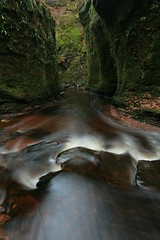 Finnich Glen (Gordon.A) Tags: scotland stirlingshire killearn finnichglen carnockburn water nature outdoors scottish river burn glen gorge canon longexposurephotography