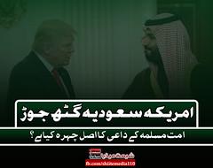 امریکہ سعودیہ گٹھ جوڑ!! واشنگٹن میں موجود امریکی محمکہ دفاع (پینٹاگون) کی جانب سے جاری ہونے والے ایک بیان کے مطابق جیمز میٹس کا کہنا تھا کہ خطے میں ایران کے بڑھتے ہوئے اثرو رسوخ کے تدارک کے لیے بنایا جانے والا مسلم ممالک کا اتحاد ایک مثبت قدم ہے۔ انہوں نے (ShiiteMedia) Tags: shiite media shia news pakistan killing شیعہ نسل کشی aein abbas admin
