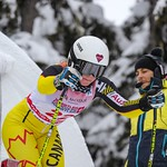 Cassidy Gray (Panorama Ski Club) Top Canadian in Women's SG PHOTO CREDIT: Coast Mountain Photography www.coastphoto.com