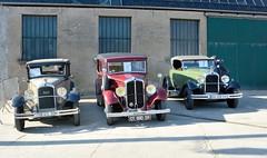 Trois ancêtres (Cletus Awreetus) Tags: france citroën c6 c4 cabriolet renault monaquatre voitureancienne car vintage voituredecollection voiture collection