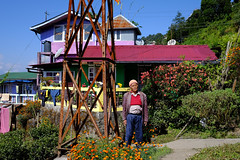 Commitment Is Life Long (realstephenwhite) Tags: portrait teaestate happyvalley india people colorful colourful architecture travel xe2 fujifilm darjeeling