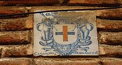 Azulejo Casas del Monasterio. Trinitarias Descalzas. Calle Lope de Vega. Madrid (Carlos Viñas-Valle) Tags: azulejo trinitarias casasdelmonasterio