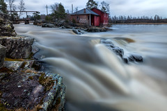 Forsby å (Jyrki Salmi) Tags: jyrki salmi koskenkylä finland koskenkylänjoki forsbyå river rapids longexposure le