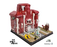 The Brick Within (Gunman (Giorgos Solomonidis)) Tags: gunman lurikeen moc lego diorama zombie evil