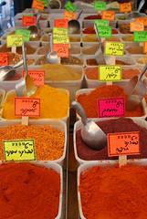 Spice Market (caprilemon) Tags: market farmersmarket thecarmelmarket telaviv israel middleeast spice spiceblend sumac pepper chili paprika cumin tumeric telavivcarmelmarket shukhacarmel