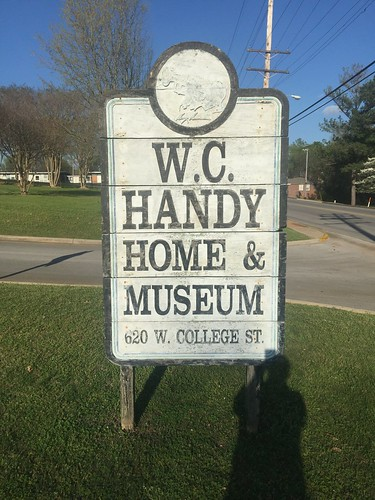 Older Sign for Handy Home with Address