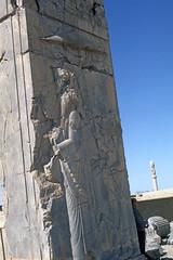 Found Photo - Iran - Persepolis - Archeological Site 22.tif (David Pirmann) Tags: iran ruins archeology persia persian unesco worldheritage xerxes parsa takhtejamshid achaemenid dpfoundphotoasia1976 persepolis