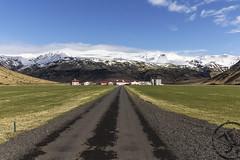 Eyjafjallajökull (JoshJackson84) Tags: canon60d sigma10250mm europe iceland southshore eyjafjallajökull landscape sun sunny farm volcano mountain mountains