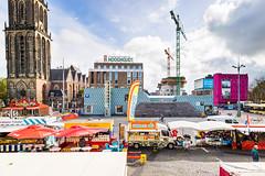 Grote Markt Groningen (april 2017) (Frenklin) Tags: groningen grotemarkt stad oostwand forum martinitoren markt market city cityscape nederland netherlands dutch holland stadsgezicht binnenstad merckt