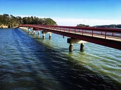 Arch Bridge (Costa Rica Bill) Tags: scenery water bridge japan iphone vsco