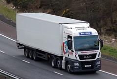 Pollock Scotrans MAN TGX N55PSL (andyflyer) Tags: pollockscotrans pollock mantgx n55psl hgv lorry haulage transport roadhaulage truck m90