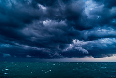 Tempest (Karol ...) Tags: tempest storm blast gale gust squall whirlwind raging clouds darkclouds omnious ominous frenchriviera esterelfrance
