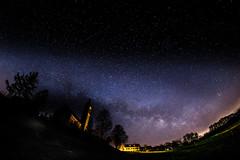 Milky Way Festival I  - New Moon Milky Way March 2017 - No. 5 (*Capture the Moment* (OFF till End June)) Tags: 12mm 2017 alxing church f28 fotowalk kirche milchstrasse milkyway sonya7mii sonya7mark2 sonya7ii sonyilce7m2 walimexpro