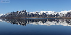 Mirror in Iceland (Nino H) Tags: islande iceland reflection colors winter beauty landscape water nord ouest