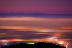 Morning haze (Bookriver.) Tags: morning haze art japan night mist fog mountain light lights takahiro fujita