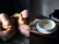 4 (iamgreengory) Tags: foodphoto foodporn foodstyle foodblogger foodie salad burger bun soup