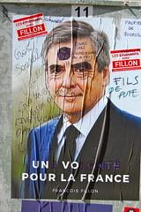 Fillon (pierre-alain dorange) Tags: élections présidentielles 2017 affiches affiche