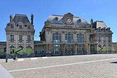 Saint-Omer (Pas-de-Calais) - La gare