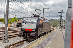 MRCE ES 64 F4-155 E189.155 (DavideEos) Tags: treno train zug eisenbahn ferrovia railway divača merci frieght binari güterzug mrce es64f4