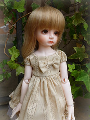 .:: Diletta ::. (Bunraku Doll) Tags: cute girl doll ns longhair blonde bjd  bianca resin elegant custom dollfie abjd   cadorna  diletta dollmore 35cm narsha shabee narshafriend dollmoreoutfit bunrakudollfaceup