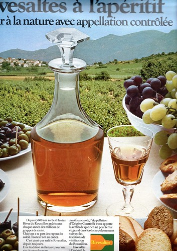 The 1970s-1973 ad for Rivesaltes