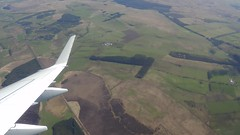 The Flight to Edinburgh (VIDEO) (Diamond Geyser) Tags: clouds scotland video aeroplane hills aerialshot britishairwaysflight