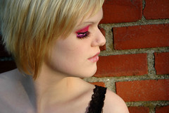 5 (RebeccaLynnPhotography8) Tags: pink portrait female photoshop makeup cannon expressive editing piercings artistry