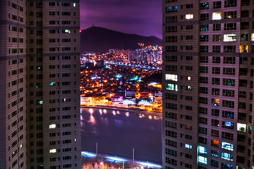 Busan nightview_colored