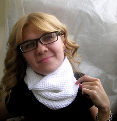 03 (kosha_knit) Tags: scarf knit cotton honey cowl 2013