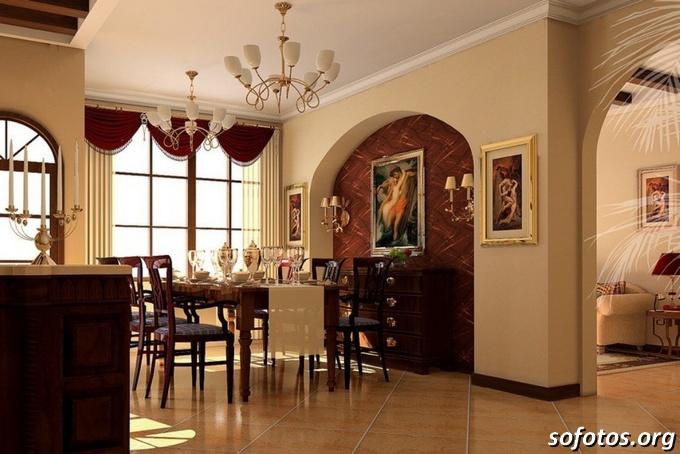 Salas de jantar decoradas (125)
