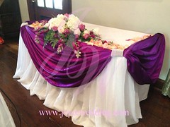 (Joyce Wedding Services) Tags: pink roses white flower dark petals perfect purple decoration large skirt fresh size elegant arrangement hydrangeas mclean drapery sunnybrook uploaded:by=flickrmobile flickriosapp:filter=nofilter