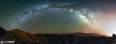 Airglow over Rincon (Sean Parker Photography) Tags: sky panorama mountains night stars star timelapse desert tucson pano panoramic astro galaxy astrophotography astronomy nightsky universe rincon startrails mtlemmon starrynight starfield starscapes airglow mlkyway universetoday
