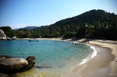 Parque Nacional Natural Tayrona (amegphotoart) Tags: paisajes naturaleza beach relax mar colombia playa palmeras arena tayrona olas santamarta paraiso playas descanso caribe atlantico tranquilidad parquenacional parquesnaturales