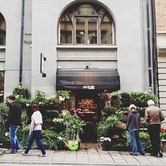 blommor butik stockholm