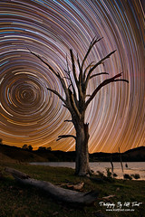 Lostock Dam (Kiall Frost) Tags: night photography star dam trails australia stacking lostock kiallfrost