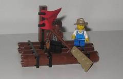 365 Days of Lego Day 190 (adventuresinlego) Tags: lego broadway musical musicals marktwain moc huckfinn huckleberryfinn bigriver 365days 365project legomoc 365daysoflego