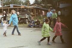 (TatumFuller) Tags: girls film alaska pentax mother 4th july parade seldovia