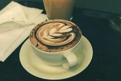 img121 (karsan.haval) Tags: film coffee vintage dark photography latte praktica bc1