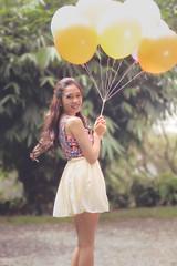 Yza (flobero) Tags: portrait girl balloons asian fun predebut florencesison flothewanderlust