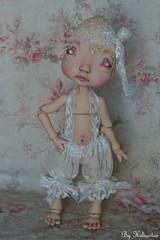 AntiK FabriKs by Heliantas:OOAK custom doll commission for Bego (heliantas) Tags: tattoo outfit doll handmade ooak makeup bjd kane humpty dumpty blush custom nefer
